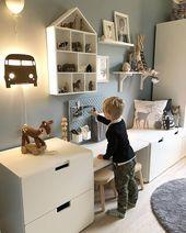 30 beste Spielzimmerideen für kleine und große Räume