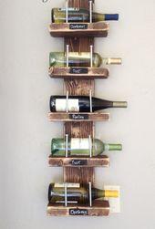 DIY Weinregale und Weinständer