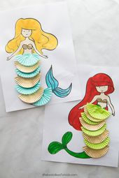 Mermaid Coloring Pages – The Best Ideas for Kids