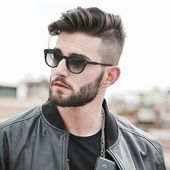 Coole Frisur für College-Typen #männer #männerfrisuren #haare #undercut #rock