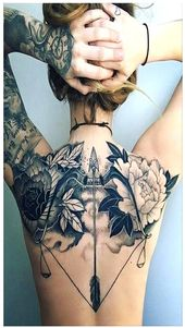 Black and white flower tattoo – Best 120 Trending tattoo (2019)