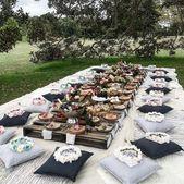 Das Nötigste für ein Picknick im Hinterhof, das …