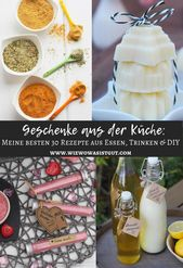 Geschenke aus der Küche – meine besten Rezepte {DIY / Essen / Trinken