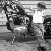 """""""Der Krieger, der an seine Reise glaubt, muss nicht beweisen, dass …   – Motorcycle baby bikers"""
