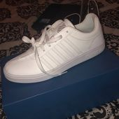 K-Swiss Schuhe   Damen K-Swiss Pumps   Farbe: Weiß   Größe 10