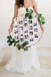 Leuk DIY project: Hoepel als bruiloft decoratie | Bruiloft Inspiratie