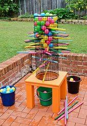 Make this fun backyard game to enjoy all summer! – #Backyard #enjoy #Fun #Game #… – yes please