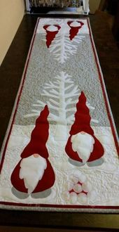 Christmas Santa CLA1110048RR Runner Carpet