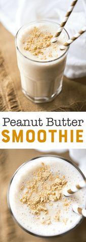 Peanut Butter Smoothie Recipe – PB2 Banana Smoothie