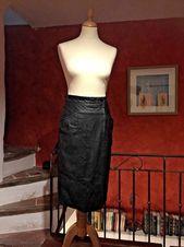 """JUPE CRAYON EN CUIR Noir """"MONTES LeatherWear – RR design"""" T 36 – Jupe – …   – Jupe"""