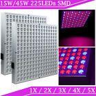 2X LED Pflanzenlampe Pflanzenleuchte 45W Pflanzenlicht  Grow Lampe