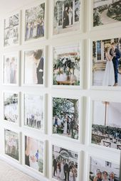 Wedding Photo Gallery Wall | STYLE X BEAUTY X HOME (Formerly The Lauren Elizabet…