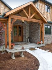 Great Front Porch Addition Ranch Remodeling Ideas (4