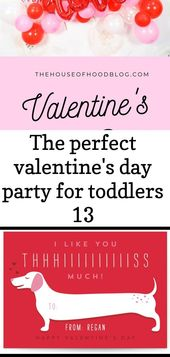 The perfect valentine's day party for toddlers 13 -  A super simple valentine'...