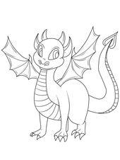 Los Geht Der Drachen Ausmal Spass Drucken Sie Fur Ihr Kind Den Kleinen Drachen Zum Ausmalen Aus Und Re Drachen Ausmalbilder Ausmalbilder Kostenlose Malvorlagen