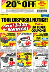 Pinned April 17th 20 Off A Single Item At Harbor Freight Tools Or Online Via Promo Code 53606570 Coupon Via The Cou Harbor Freight Tools Coupon Apps Coupons