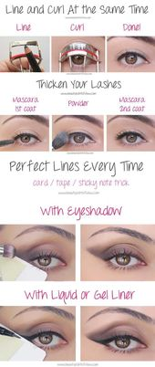 Beauty hacks for teenagers – eye makeup tricks – you have to know – DIY makeup tips and hacks for skin, hairstyles, acne, bras and everything in between