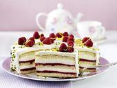 Unser beliebtes Rezept für Himbeer-Smoothie-Torte mit Zitronencreme und mehr …   – Backen