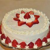 Schlagsahne-Mousse-Zuckerguss … Das ist so gut, dass Sie keinen Kuchen brauchen, um zu gehen …