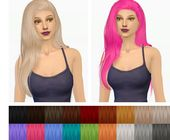 Ashley: Stealthic Captivated Maxis Match hairstyle retexture