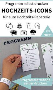 Erstellen und drucken Sie 130 Eukalyptus-Word-Design-Vorlagen für Ihre Hochzeitsdekoration   – '► GRUPPENBOARD – HOCHZEIT ◄ wedding