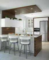 25 Modern Kitchen Ceiling Design For Amazing Kitchen Decoration Ideas