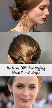 Modern 2018 Hair Styling Ideas For Girls