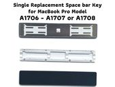 MacBook Pro 2016-17 13″ 15″ A1706 A1707 A1708 Space bar Single Replacement Key w/ Hinge and Cup-Check Hinge