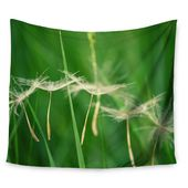 East Urban Home Best Wishes by Robin Dickinson Wall Tapestry | Wayfair