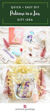 Holiday Gift Idea: DIY Pedicure in a Jar
