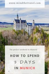 3-Day Munich Itinerary – How to Spend 3 Days in Munich – Travel Inspiration!