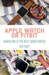 The Best Smartwatch – Fitbit or Apple Watch | Pretty As Peonies