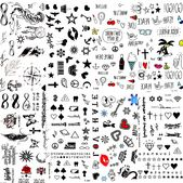 Süße kleine temporäre Tattoos - Produkte #stickers #tickerstumblr #stickerslaptop #funnystickers - image 5a9868ef412d46ca3594e3199745c6d1 on http://hairforstyle.com