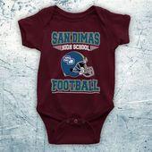 Bill & Teds exzellentes Abenteuer San Dimas High School Football Science-Fiction-Komödienfilm Inoffiziell Baby G   – Products