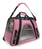 Portador de mascotas Cara suave Gato grande Confort para perros Vino rosado Bolsa rosa Viaje aprobado …   – Dog Carriers & Travel