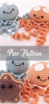 Amigurumi Octopus – Crochet Pattern