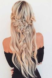 Homecoming hairstyles are the perfect example of t #casual #charm #classpintag #elegance #explore