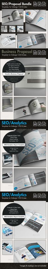 SEO - Business Proposal Templates Bundle Business proposal - seo proposal template
