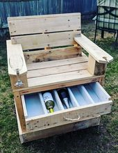 37 Awesome Creative Diy Pallet Furniture Projektideen