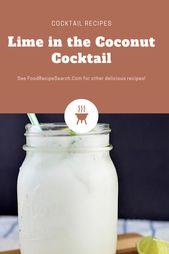Limette im Kokosnuss-Cocktail – Es ist wirklich sehr erfrischend und beruhigend. …