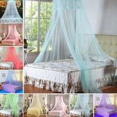 Elegant Round Lace Insect Bed Canopy Netting Curtain Dome Mosquito Net Bedding – Products