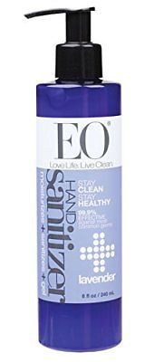 Eo Botanical Hand Sanitizer Gel Lavender 8 Ounce Beauty Hand
