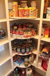 65 geniale Küche Organisation Tipps und Lagerung Ideen