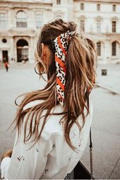5 scarf hairstyles that are perfect for the summer