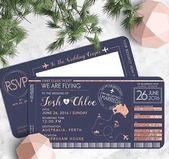 34 Unique Save The Date Ideas