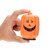 Jack-O-Lanterns 8cm Glowing Led Pumpkin Lamp Halloween Decoration Children Dress…