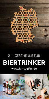 50 besondere Geschenke für Biertrinker
