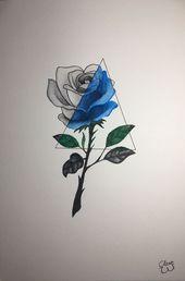 Foto Tattoo Julia ShinShin Shingareeva-Tätowierungsblumen-Sketchbook- # Fo