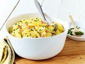 Klassischer Kartoffelsalat mit Brühe