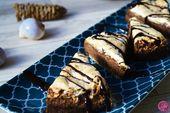 Fudgy S'mores Brownies
